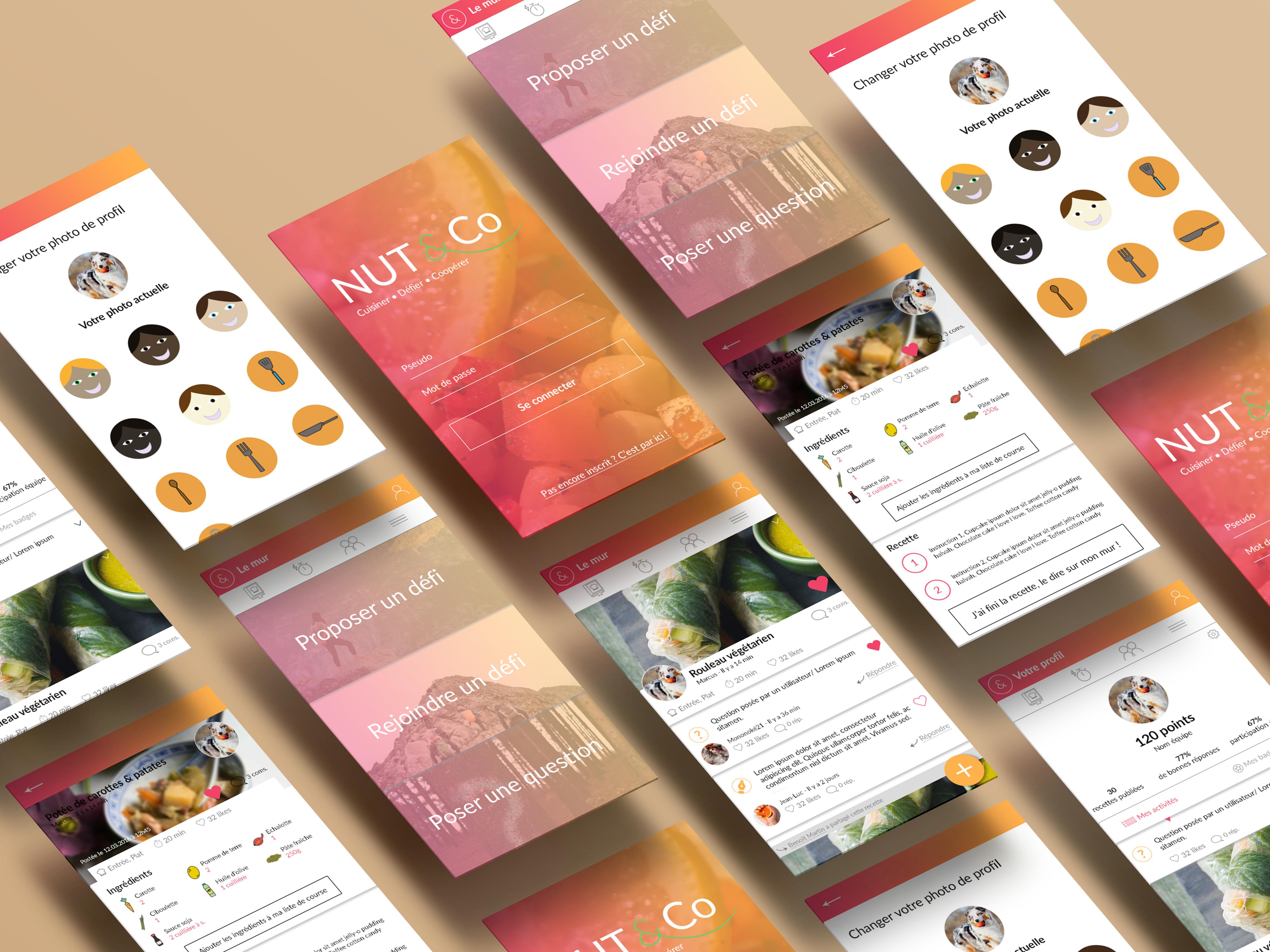 Nut&Co, application mobile