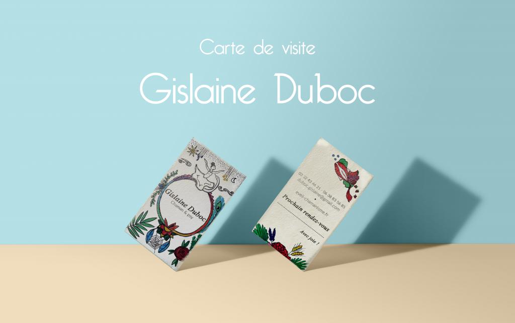 Gislaine Duboc, carte de visite