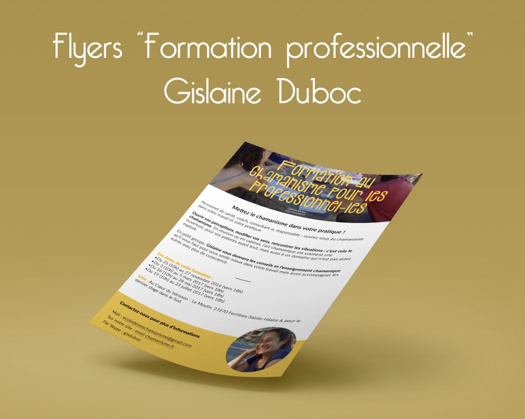 Gislaine Duboc, flyers