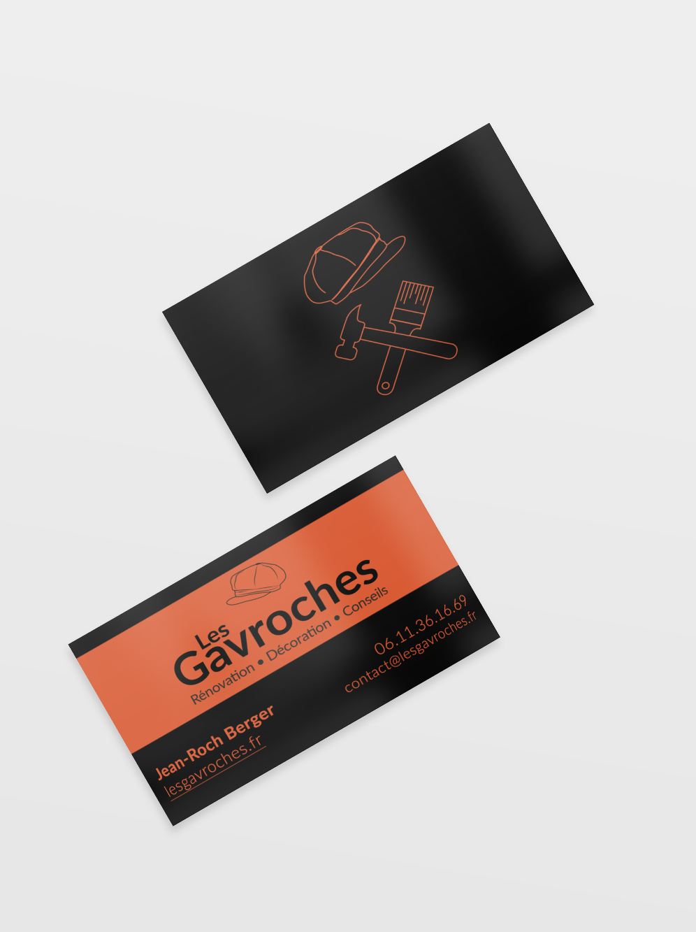 Carte de visite les Gavroches