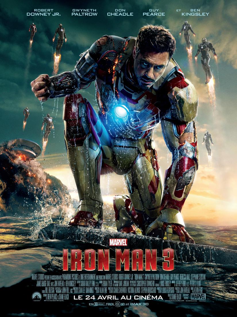 Iron man 3 de Jon Favreau // www.sweetberry.fr