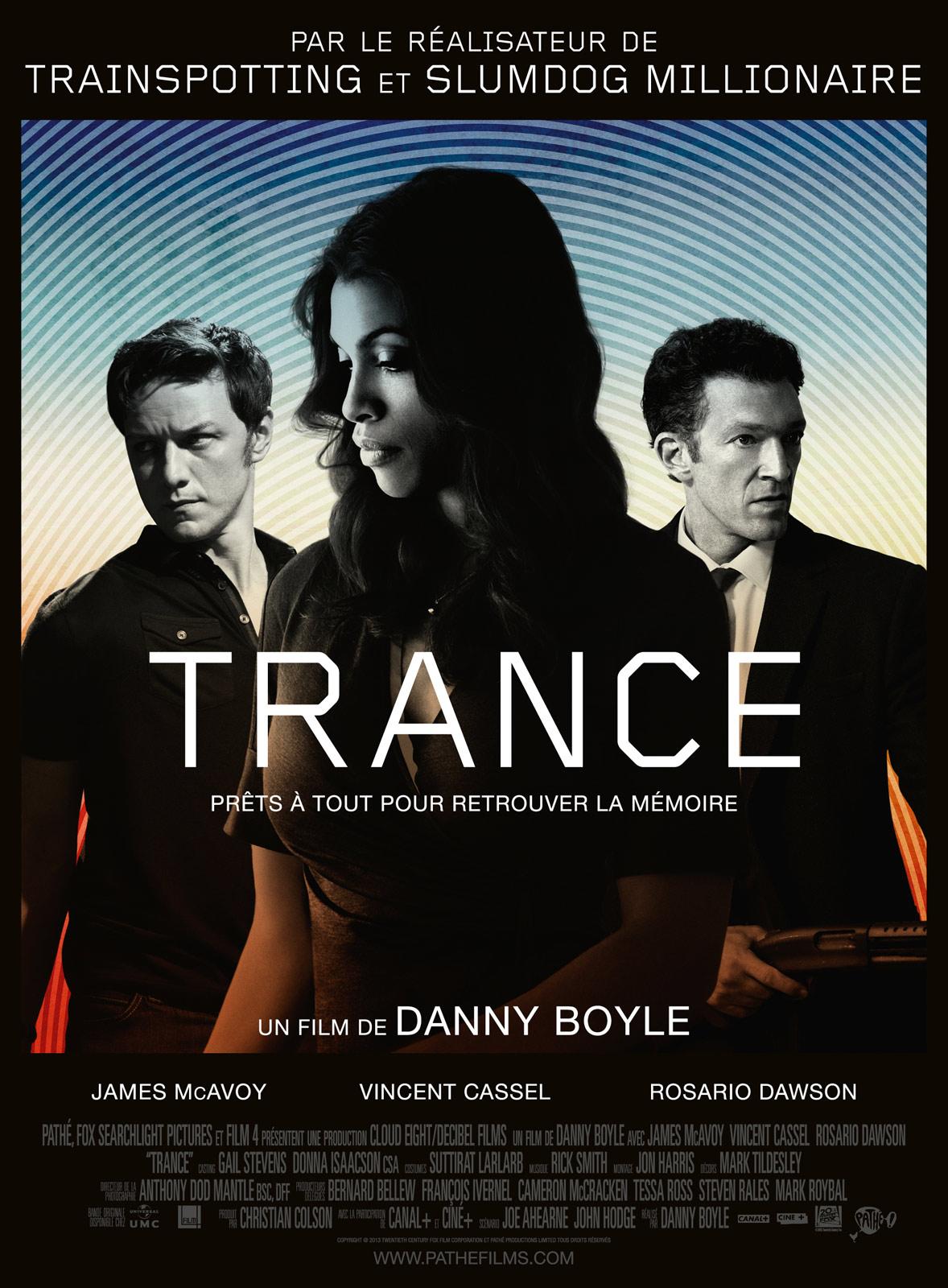Trance de Danny Boyle // www.sweetberry.fr