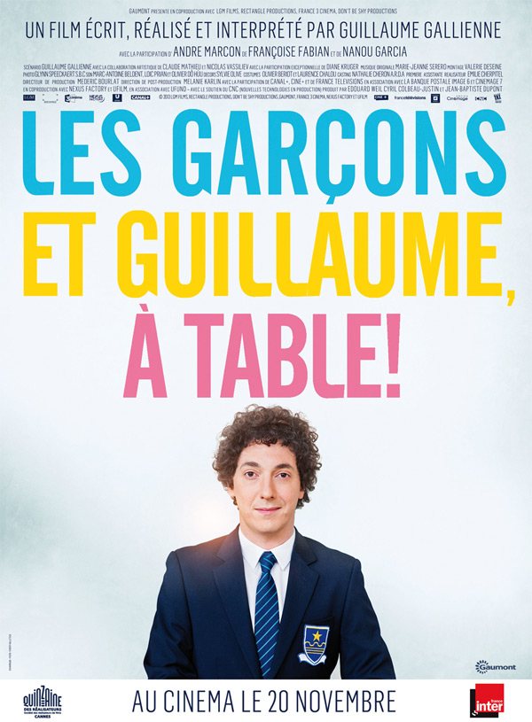 Guillaume et les garçons, à table ! // www.sweetberry.fr