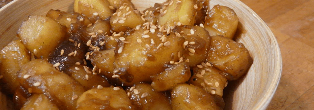 Pomme de terre au saké // www.sweetberry.fr