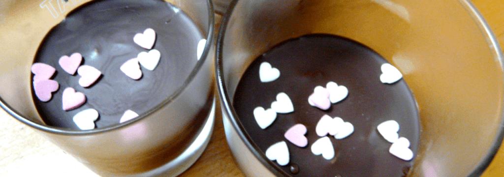 Crème café & ganache de chocolat noir // www.sweetberry.fr