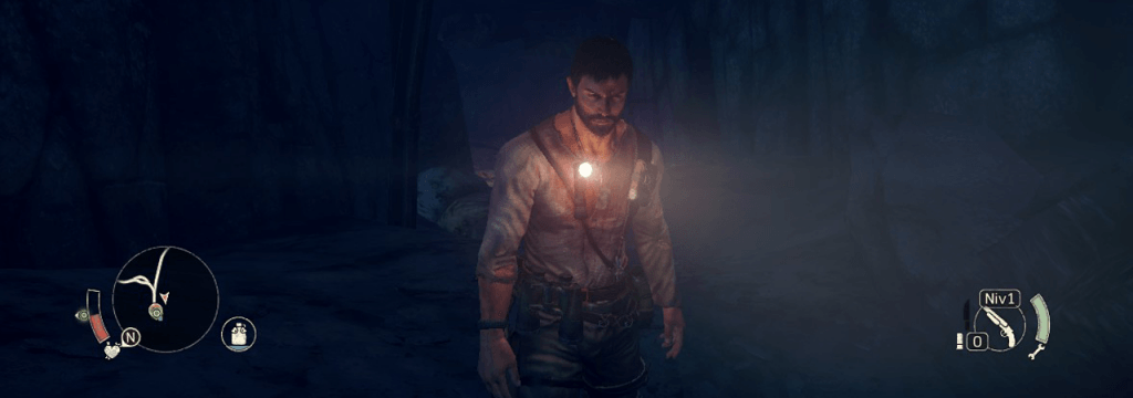 Max, même quand il trouve une lampe torche, il fait la gueule