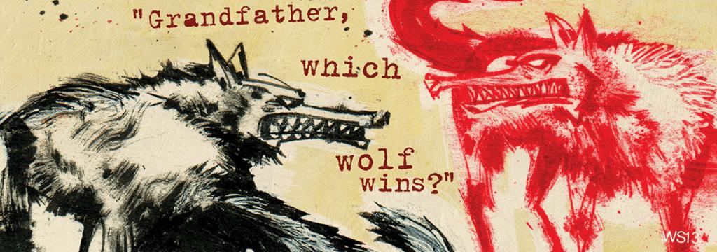 Le conte des deux loups, légende amérindienne // www.sweetberry.fr