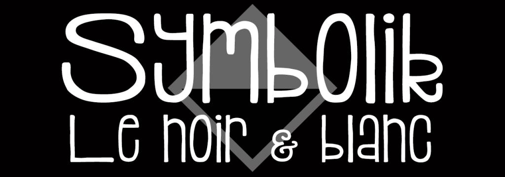 Symbolik – Noir & Blanc // www.sweetberry.fr