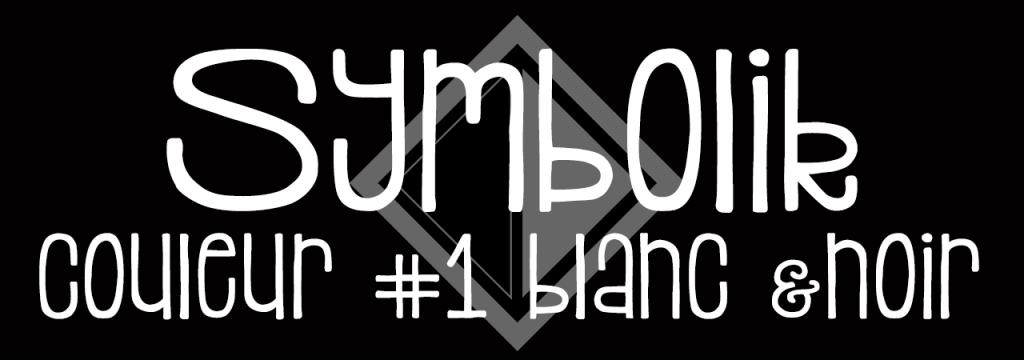 Symbolik – Couleurs #1, le blanc et le noir // www.sweetberry.fr