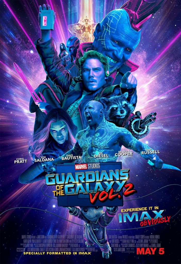 Les gardiens de la galaxie de James Gunn (II)