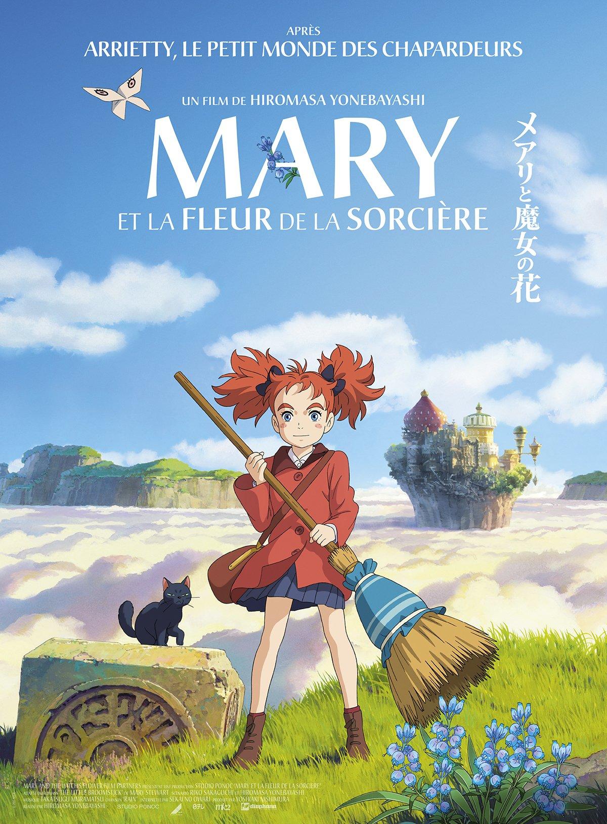 Mary et la fleur de sorcière de Hiromasa Yonebayashi