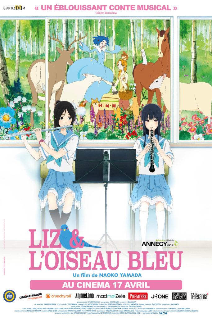 Liz et l'oiseau bleu de Naoko Yamada