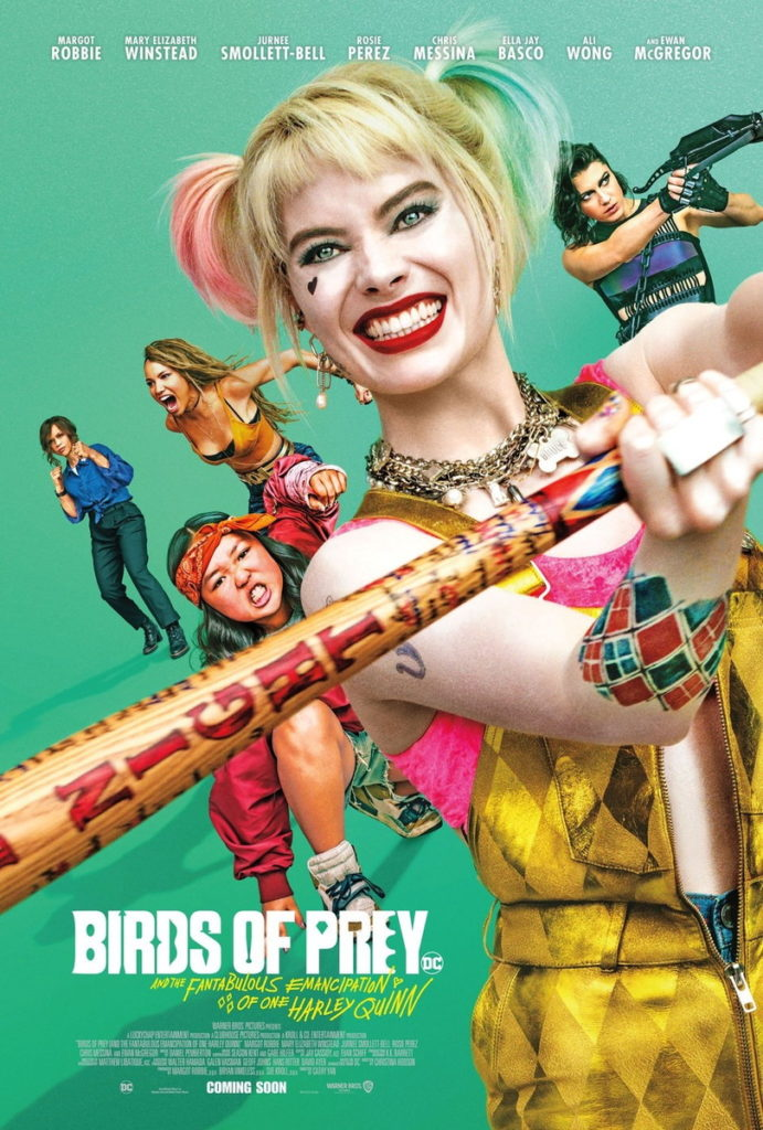 Birds of prey et la fantabuleuse histoire d'Harley Quinn de Cathy Yan